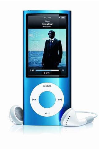iPod nano gets built-in video camera