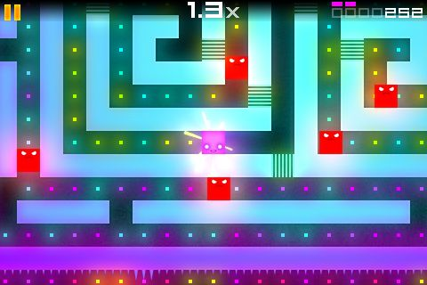 Gobble up the Pac-Man-esque puzzlers EVAC and EVAC HD on Android for free from the Market