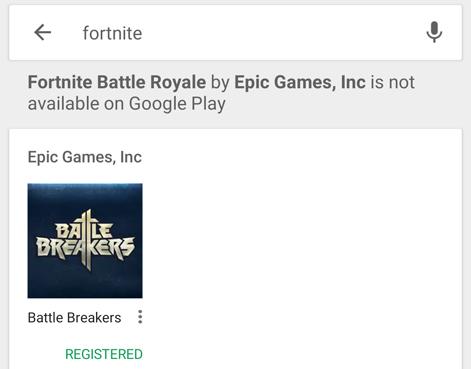 Fortnite Battle Royale Android, thumbnail 1