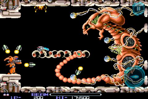 New screens released for R-Type on iPhone, EA to publish?