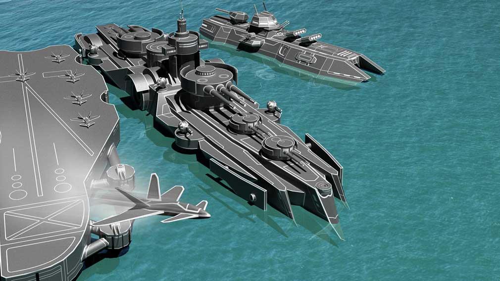 Fleet Battle's latest update has added Italian vessels to the fray