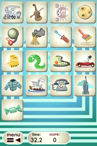 Free iPhone game: Zogaj Memo Gym