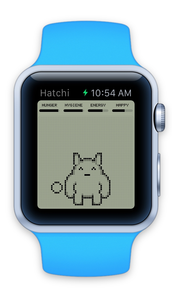 Hatchi will you let you look after a retro-style virtual pet on your Apple Watch
