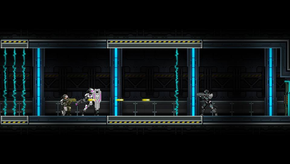 Beyond Human will bring sci-fi metroidvania action to PS Vita next year