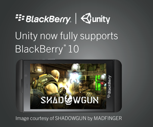 Sponsored Feature: BlackBerry on what Unity support means for BB10