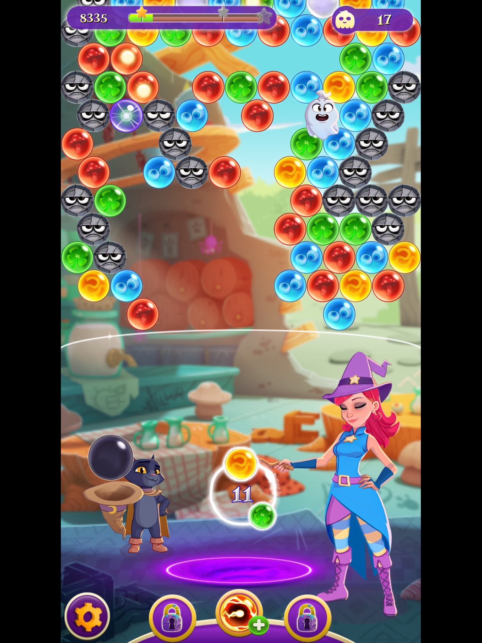 Bubble Witch Saga 3 review - More of the same, but a bit better