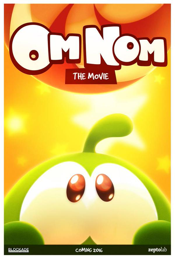 Cut the Rope is getting a film adaptation late next year, starring game's iconic character, Om Nom
