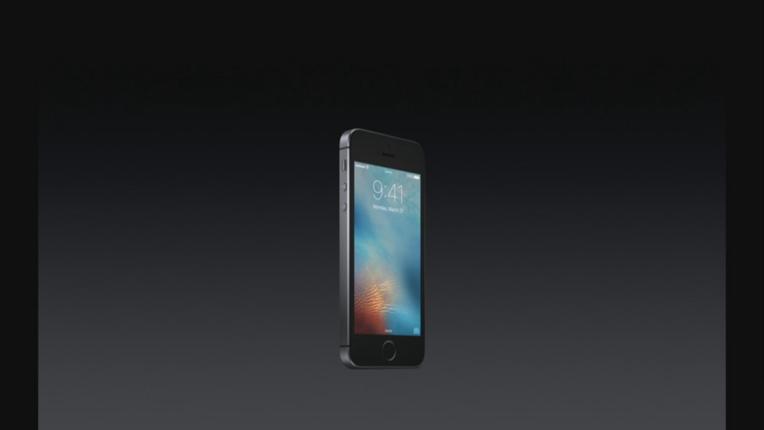 Apple announces iPhone SE, 4