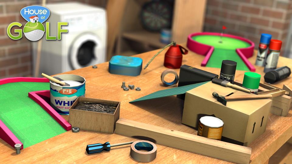 Developer Atomicom using Kickstarter-esque Appbackr program to fund House of Golf for iOS and Android