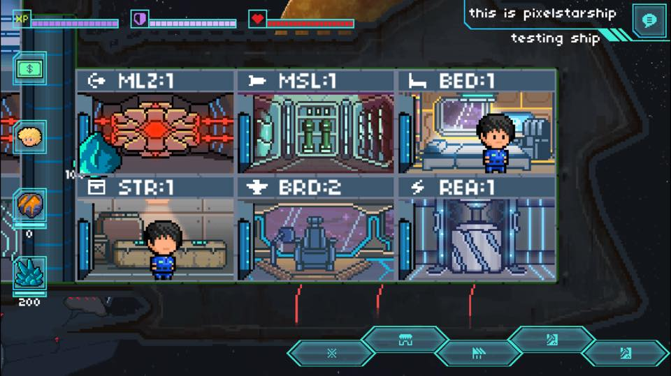 Kickstart this: Pixel Starships promises the universe if you're willing to command a spaceship