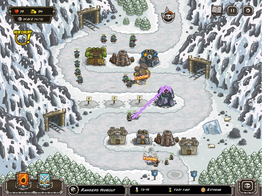 Kingdom rush frontiers review - Tower Defence Juggernauts Kingdom Rush And Kingdom Rush Frontiers Updated And Reduced In Price