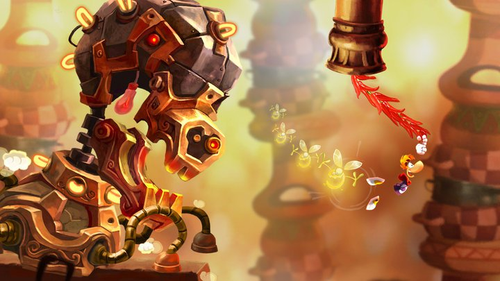 Rayman Fiesta Run will heat up your iPad, iPhone or Android on November 7th