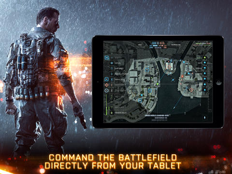 Battlefield 4 Commander app launches on iOS and Android but is disabled on PS4 due to stability issues