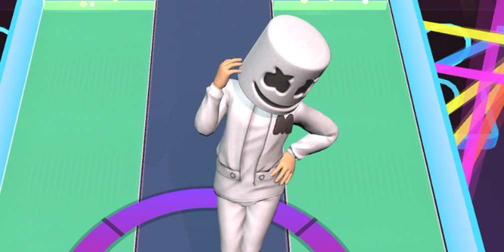 Marshmello Music Dance, Marshmello's first-ever game, lets you listen to Joytime III right now