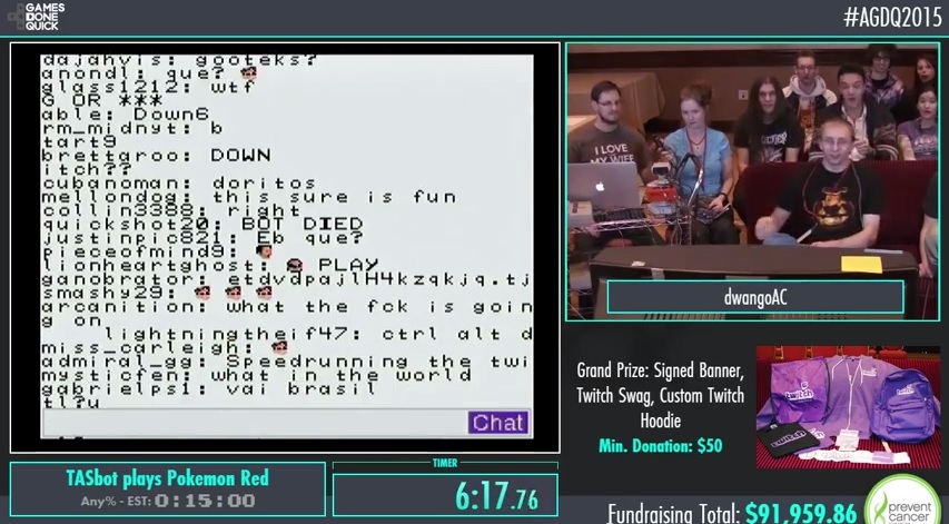 Twitch Plays Pokémon is getting old, so here's Pokémon Red playing Twitch
