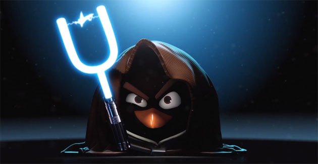 Will Rovio announce a new Angry Birds Star Wars title on Monday?