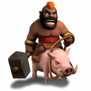 Hog Rider - soldier stats and troop tactics in Clash of Clans
