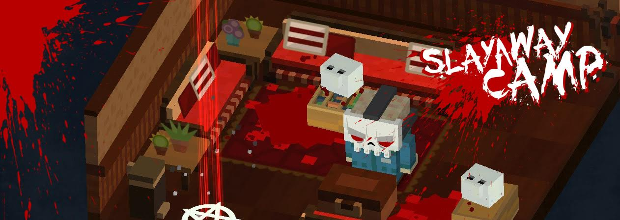 Be a psychopath this Valentine's Day with Slayaway Camp, an horrific puzzler coming to iOS February 14th