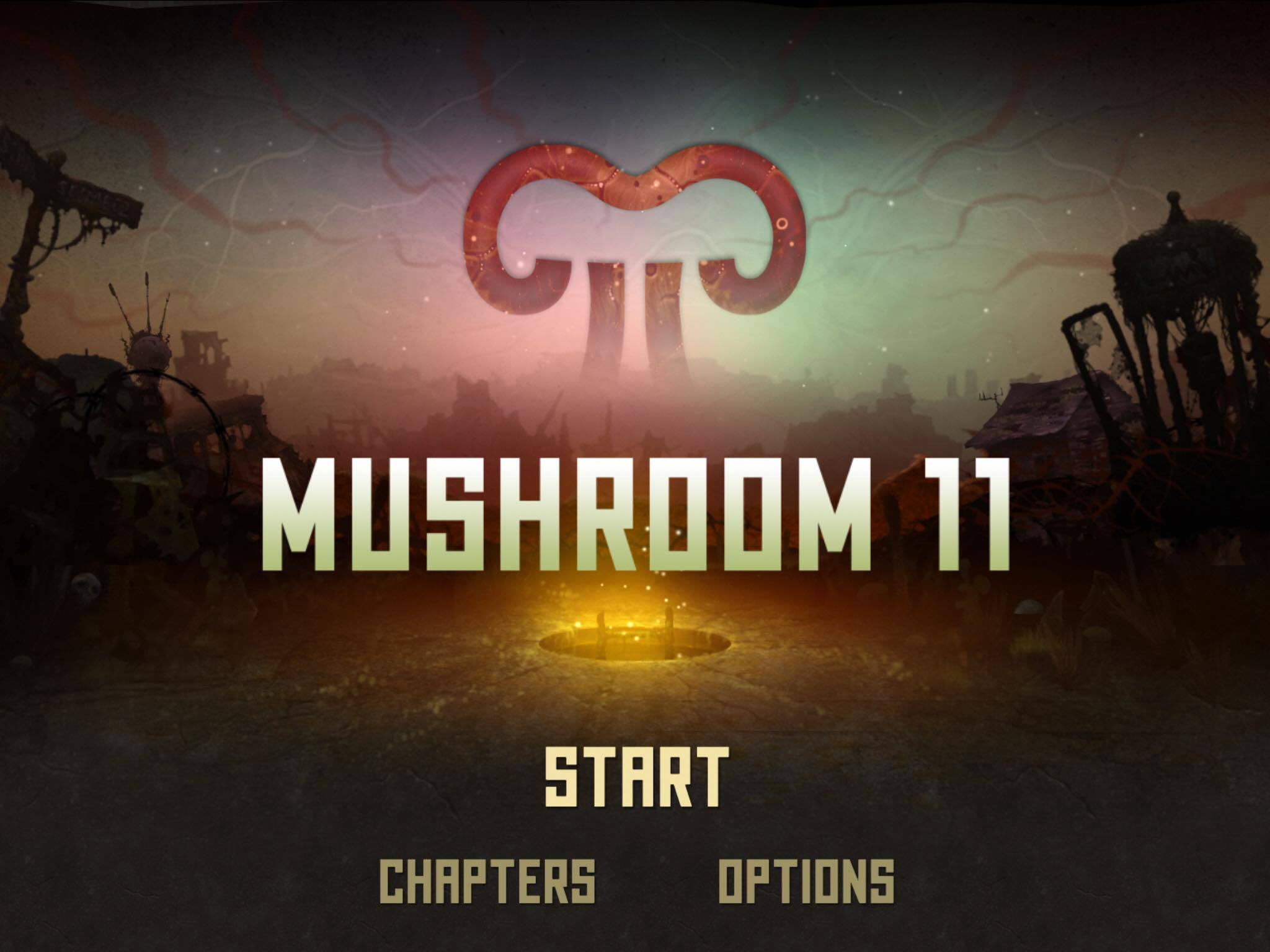 The weird-but-cool puzzle platformer Mushroom 11 is out now for iPhone and iPad