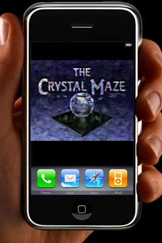 Discover your iPhone's potential in The Crystal Maze