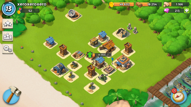 Show the community your Boom Beach Home Base