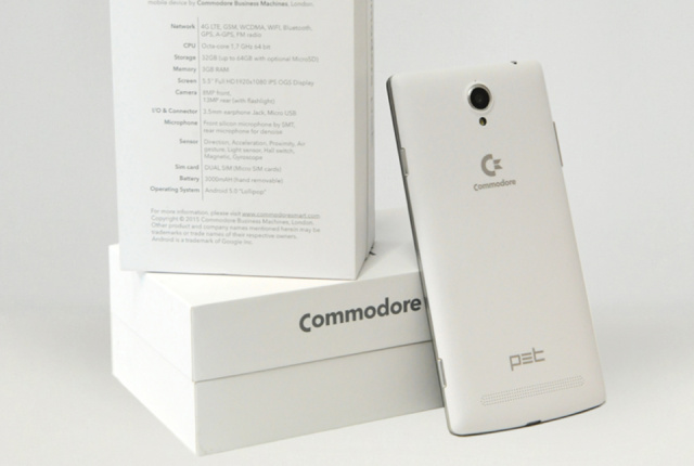 Commodore PET is an Android-based smartphone that'll come with pre
