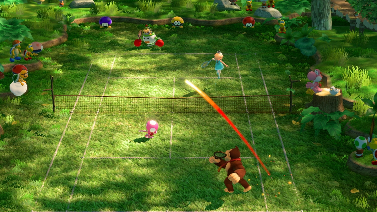 Mario Tennis Aces Switch preview - A unique serving of bat and ball goodness