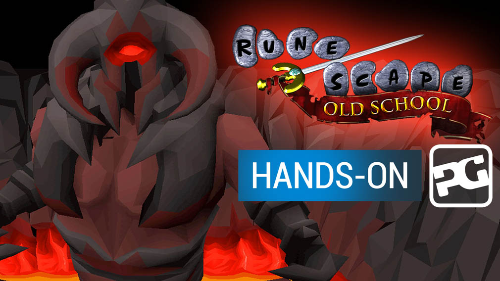 "Old School Runescape video hands-on - ""The classic MMO makes it onto mobile"""
