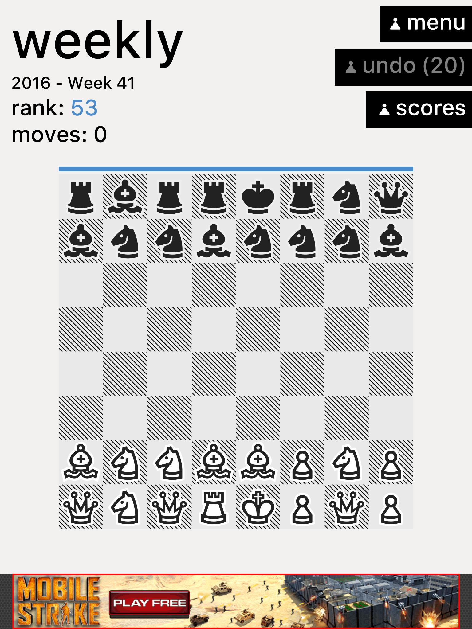 Really Bad Chess , screenshot 2