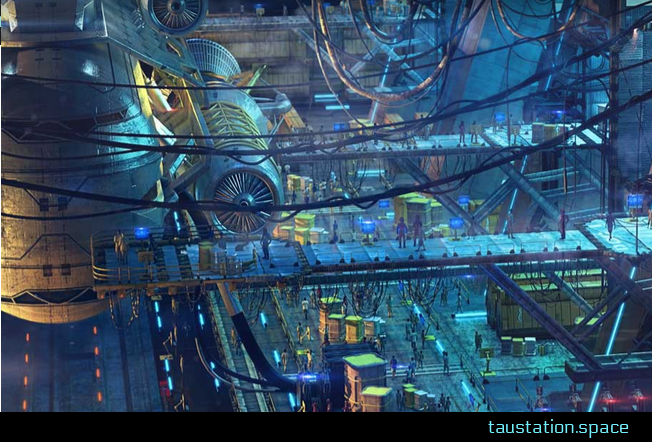Tau Station promises to blend sci-fi text adventure with sprawling MMORPG