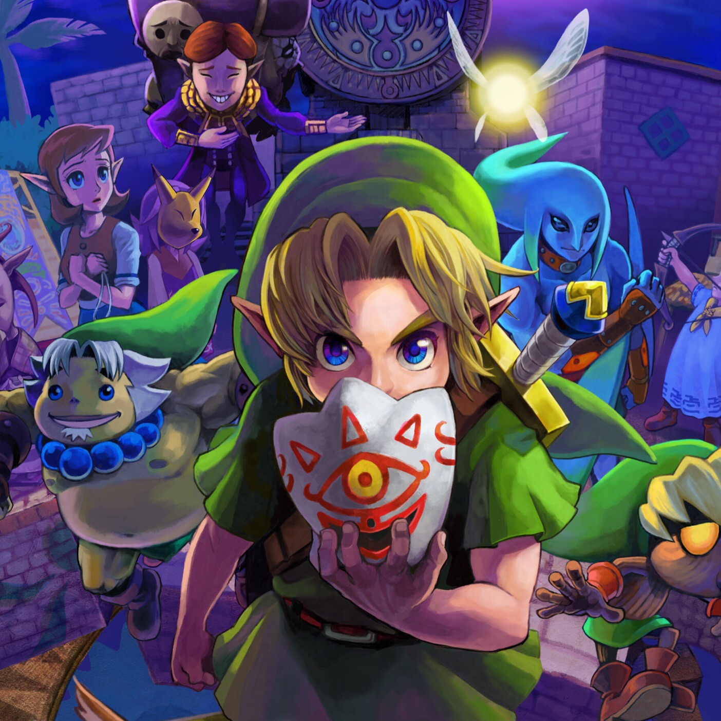 5 things we learnt about Majora's Mask in the new Iwata Asks