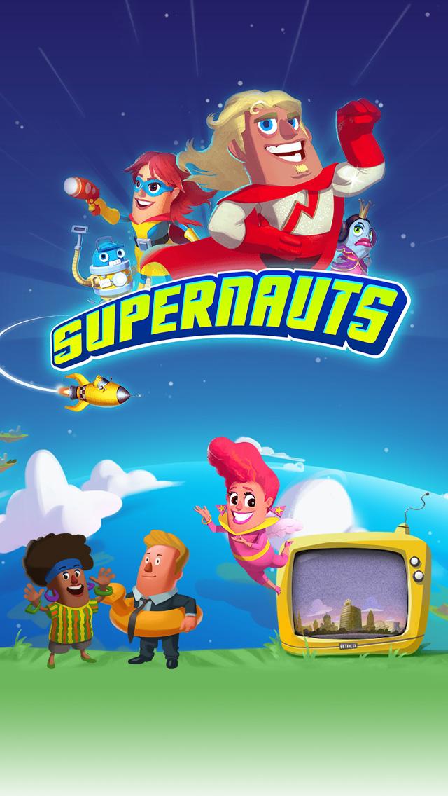 Supernauts iPhone 5 Wallpaper