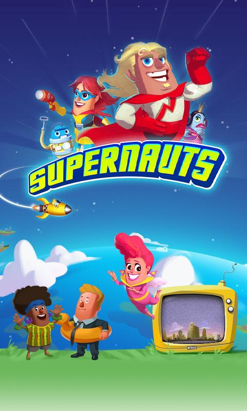 Supernauts Smartphone Wallpaper