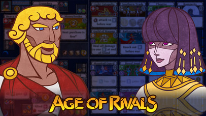 The brilliant, condensed grand strategy board game Age of Rivals is on sale right now for iPhone and iPad