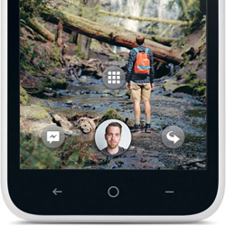 Make Facebook your Home with the incredibly social HTC First