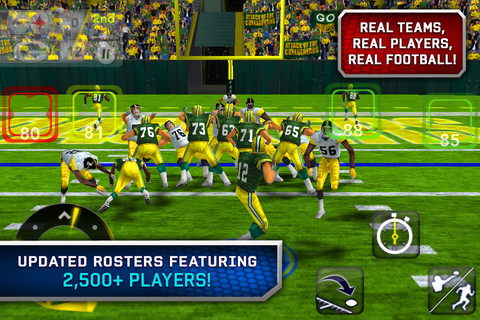 EA's American-football franchise returns as Madden NFL 12 for iPhone, iPad, and Android goes live