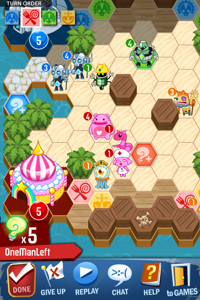 Outwitters has been entirely rebuilt for its 2.0 version due for iOS and Android in March