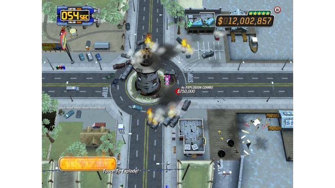Hands-on with Burnout Crash! for iPhone and iPad