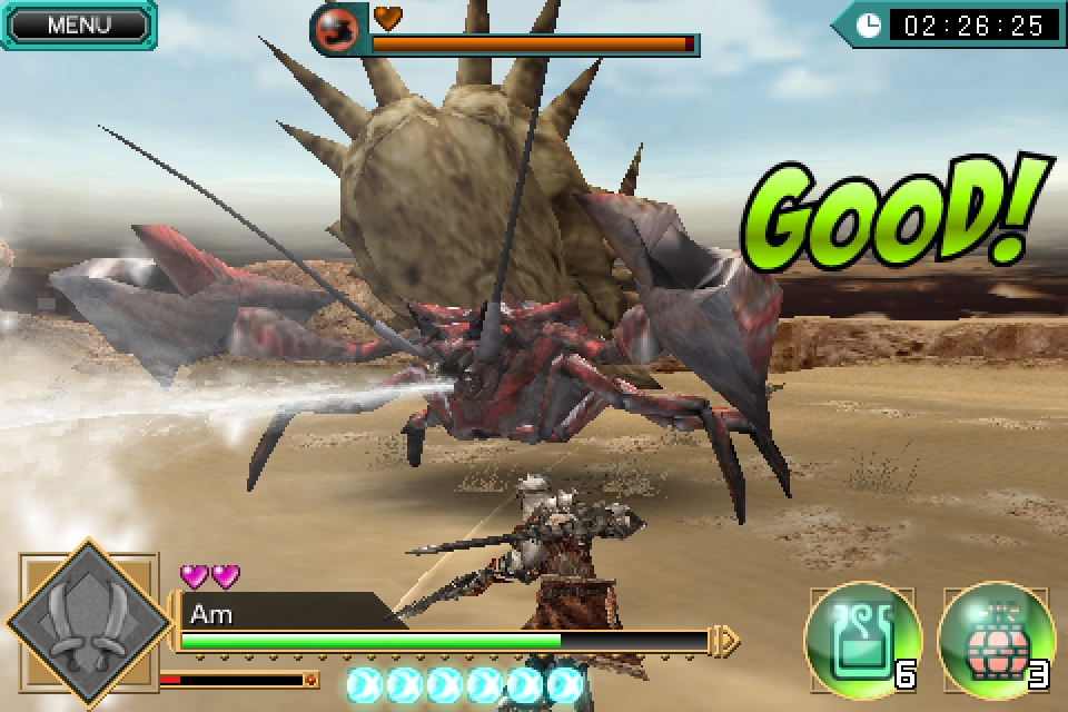 Capcom beast Monster Hunter: Dynamic Hunting roars onto iPhone, contains 'Massively Huge Monster!'
