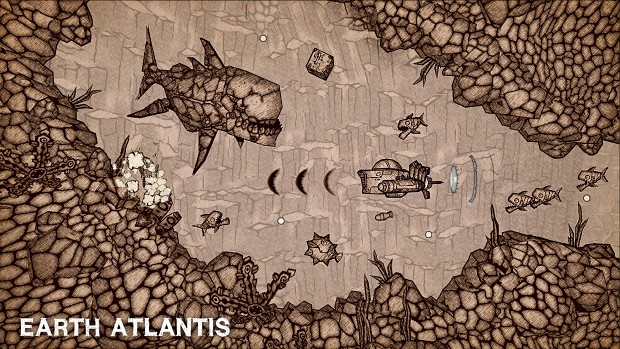 Arcade shoot em' up, Earth Atlantis, is now on iOS