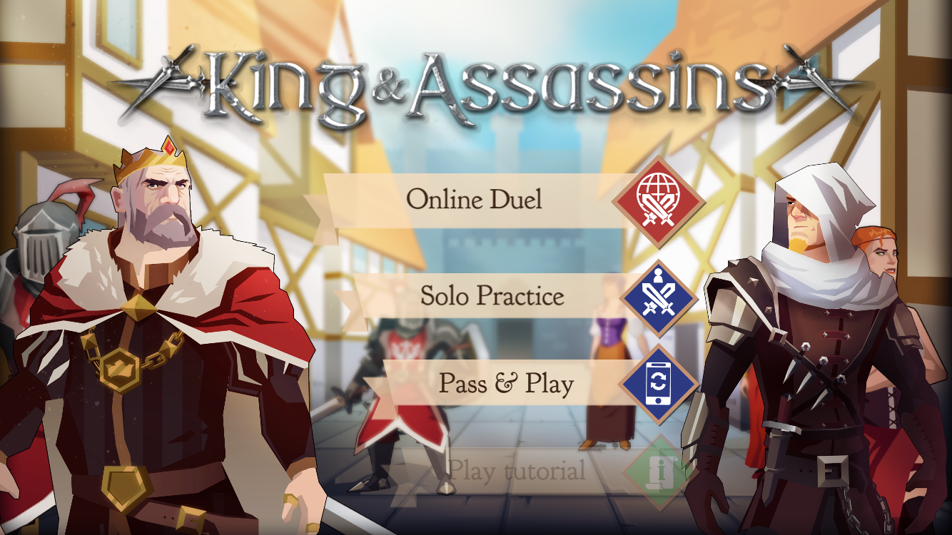 We've got another treat in store for you on tonight's Kings and Assassins Twitch stream