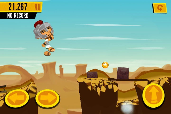 Hands-on with high score platformer game 1000 Heroz for iPhone