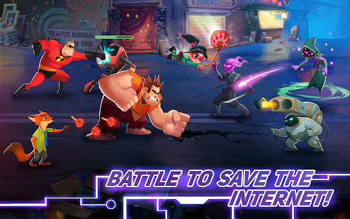 Disney's joining forces with Pixar when RPG Disney Heroes: Battle Mode releases later this year