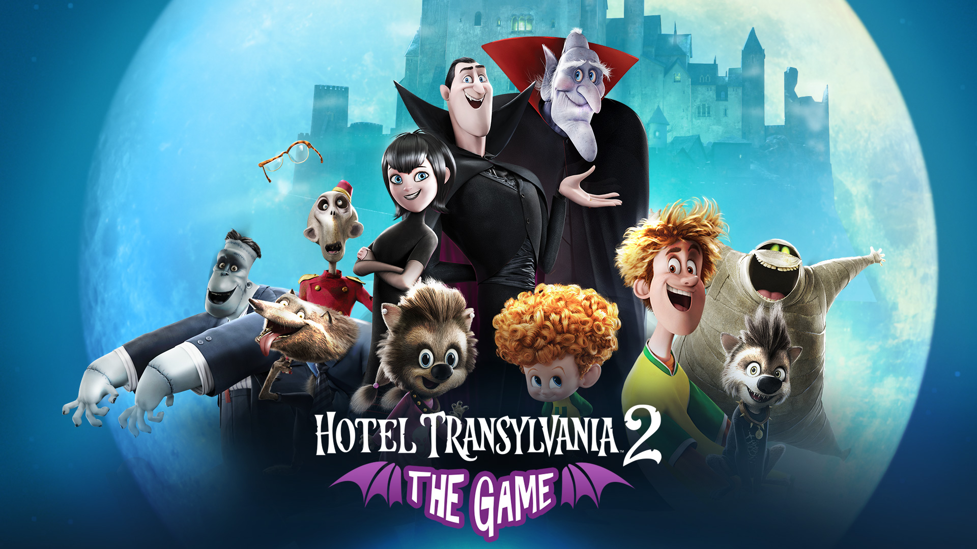 Create your own unique monster lands in Hotel Transylvania 2 out now on iOS and Android