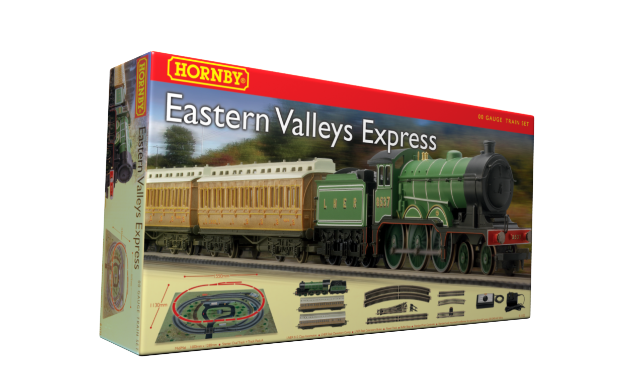 Win a Hornby electric train set!