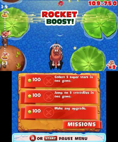 Overhead iOS platformer Crazy Kangaroo bouncing onto 3DS eShop soon