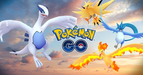 Lugia and Articuno are the first Legendaries available in Pokemon GO