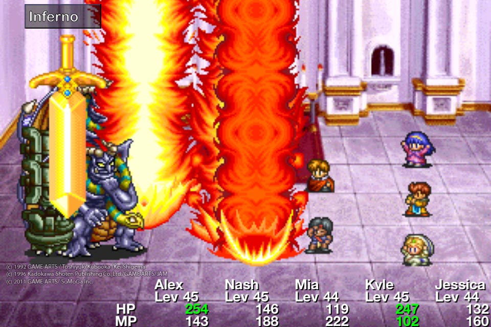 Acclaimed RPG Lunar: Silver Star Story landing on iOS this week