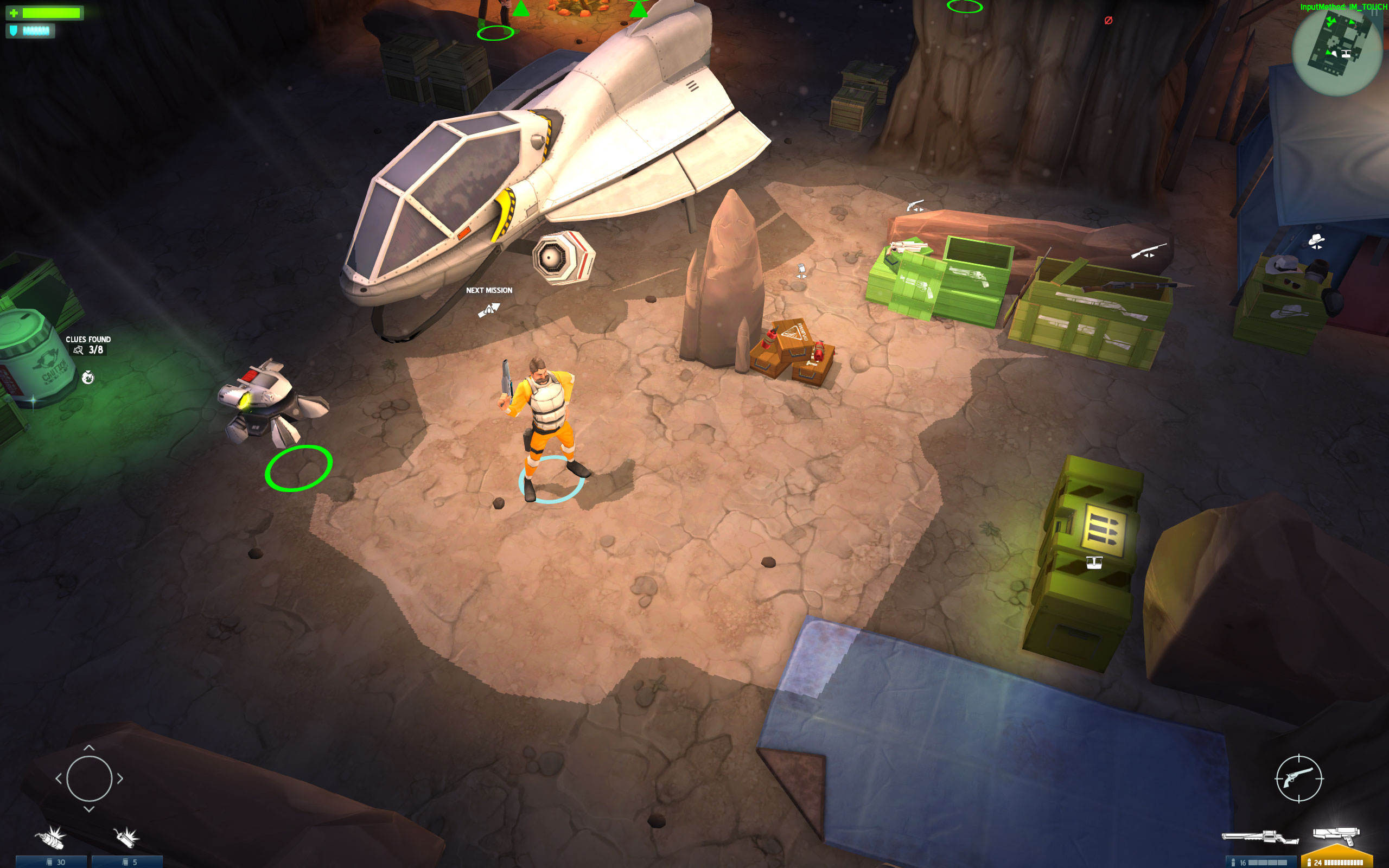 Tactical sci-fi shooter Space Marshals gets infested with bugs in Chapter 2, out now