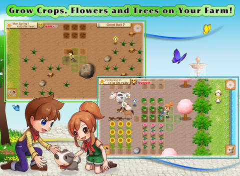 Harvest Moon finally comes to iOS, in premium game Harvest Moon: Seeds of Memories